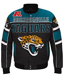 G-III Sports Men's Jacksonville Jaguars Blitz Front Zip Jacket