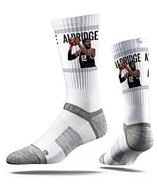 San Antonio Spurs Lamarcus Aldridge Action Crew Socks