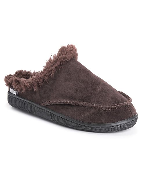 Muk Luks Men's Faux Suede Clog Slippers