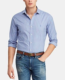 Polo Ralph Lauren Men's Classic Fit Floral Poplin Shirt
