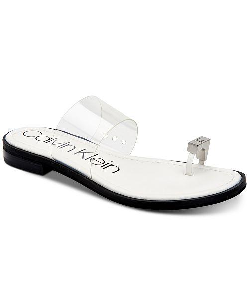 Calvin Klein Women's Tamar Flat Sandals