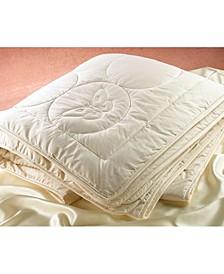 Silk Filled Quilted Comforter, Queen