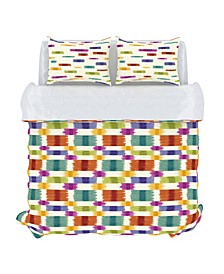 Barnaby Decorative Pillow and Duvet Cover Set