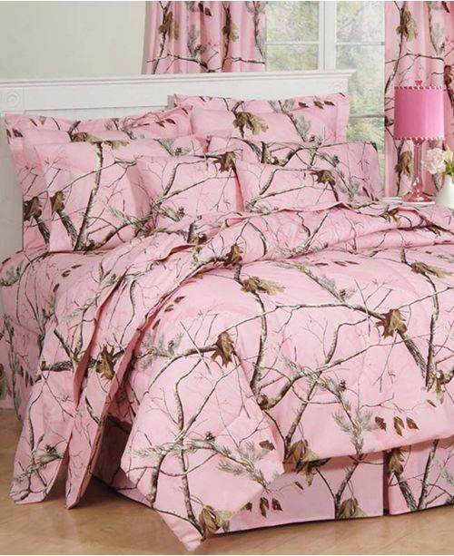 Karin Maki Realtree APC Pink Full Comforter Set