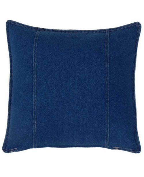 Karin Maki American Denim Square Pillow