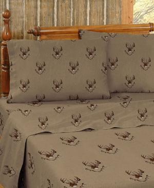 Blue Ridge Trading Whitetail Ridge Twin Sheet Set Bedding