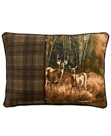Blue Ridge Trading Whitetail Birch Oblong Pillow