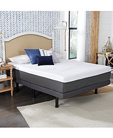 """12"""" Comforpedic from Beautyrest Rainbow with Nrgel Twin Xlong Memory Foam"""