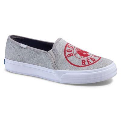 Gray Keds Slip Ons - Macy's