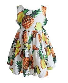 Little Girls Pineapple Dress