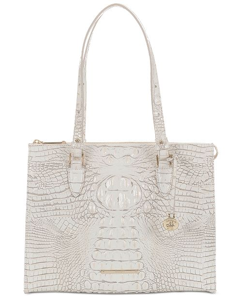 16ceb506f45a ... Brahmin Melbourne Anywhere Embossed Leather Tote