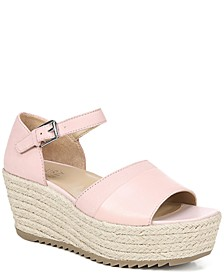 Opal Platform Wedge Sandals