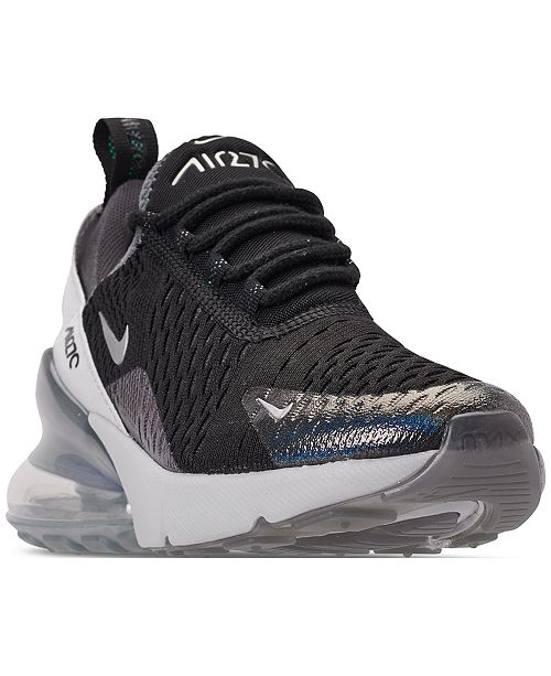 official photos 6e6e8 3c5ee ... Nike Boys Air Max 270 Y2K Casual Sneakers from Finish ...
