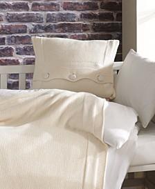Venice Natural Cotton Crib Bedding Set 5 Piece