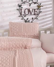 Patchworld Natural Cotton Crib Bedding Set 5 Piece