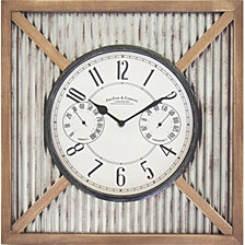 Firstime and Co. Barn Outdoor Wall Clock