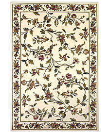 "KAS Cambridge Floral Vine 3'3"" x 4'11"" Area Rug"