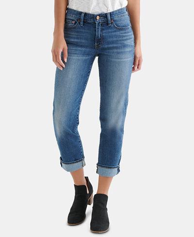 Lucky Brand Sweet Capri Straight-Leg Jeans