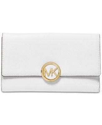 21bb2a78d832 Michael Kors Lillie Pebble Leather Carryall Wallet   Reviews - Handbags    Accessories - Macy s