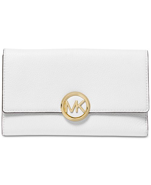 120b7207f660 Michael Kors Lillie Pebble Leather Carryall Wallet & Reviews ...