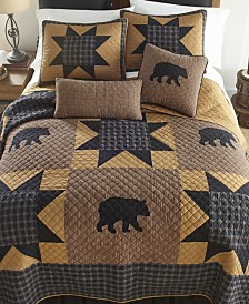 Bear Star Cotton Quilt Collection, King