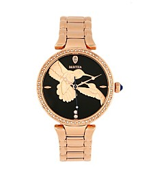 Bertha Quartz Nora Rose Gold Stainless Steel Watch, 38mm