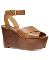fb92f11fa89d MICHAEL Michael Kors Abbott Platform Wedge Sandals