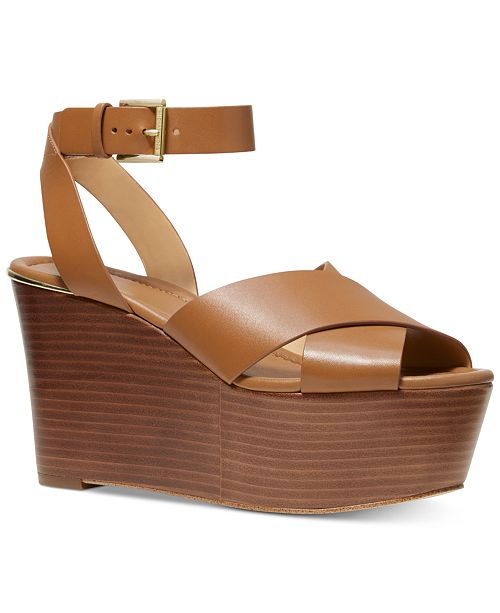 c0cdf48afd35 Michael Kors Abbott Platform Wedge Sandals   Reviews - Sandals ...