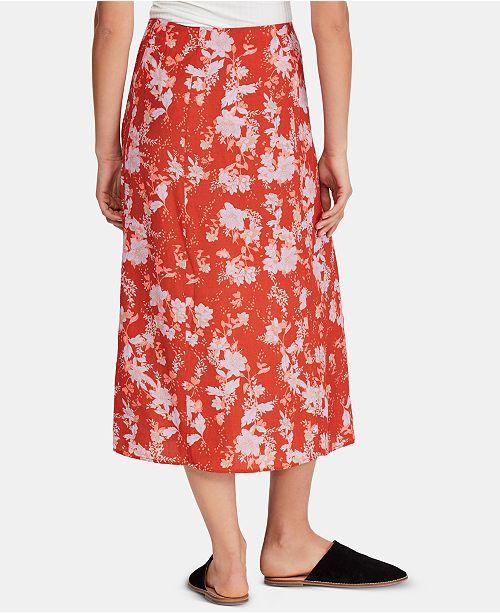 91f16c81b65cdf Free People Retro Love Midi Skirt & Reviews - Skirts - Juniors - Macy's