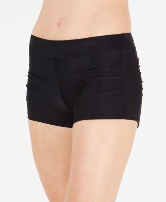 Ruched Swim Shorts