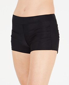 GO by Gossip Ruched Swim Shorts