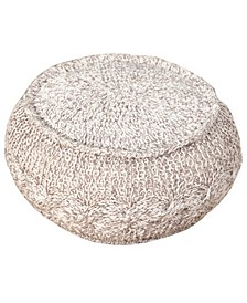 Hand Knotted Pouf