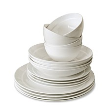 Traditions 16 Piece Bone China Dinnerware Set
