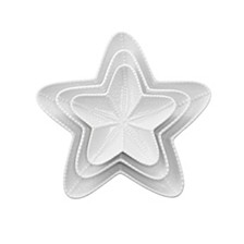 Starfish Plates - Set Of 3
