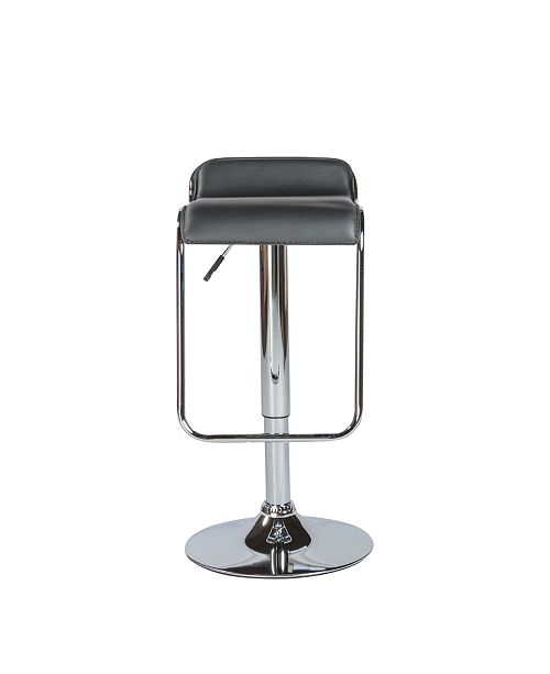 Marvelous Furgus Adjustable Swivel Bar Counter Stool With Chrome Base Pdpeps Interior Chair Design Pdpepsorg