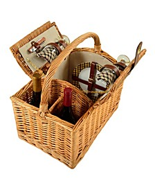 Vineyard Willow Wine, Picnic Basket with service for 2