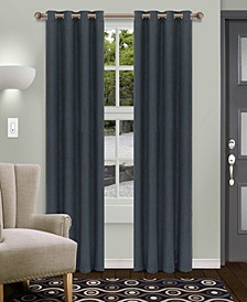 "Shimmer Textured Blackout Curtain, Set of 2, 52"" x 63"""