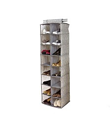 Laura Ashley 16 Shelf Shoe Organizer in Almeida