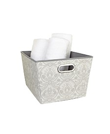Laura Ashley Large Grommet Storage Bin in Almeida