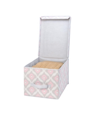 The Macbeth Collection Closet Candie Large Storage Box in Ikat