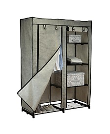 "48"" Portable Closet in Black"