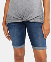 8c4cd37432 Shorts Maternity Clothes For The Stylish Mom - Macy's