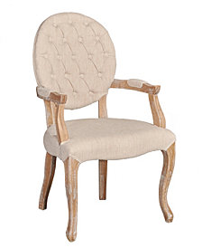 Avalon Linon Arm Chair