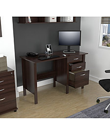 Inval America Writing Desk with 3 Drawers