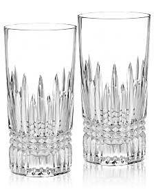 Waterford Barware, Lismore Diamond Highball Glass Pair