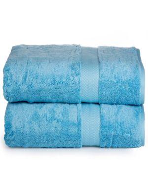 Image of AeroSoft - Premium Combed Cotton 700 Gsm Oversized Bath Sheets (2 Pack) Bedding
