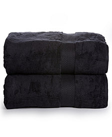 AeroSoft - Premium Combed Cotton 700 GSM Oversized Bath Sheets (2 Pack)