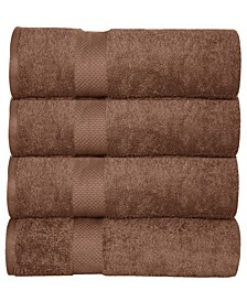 Oversized Luxurious Cotton Oversized Bath Sheets (Set of 4)