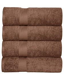 Oversized Luxurious Cotton Oversized Bath Sheets (Set of 4)