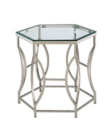 Annette Contemporary Side Table